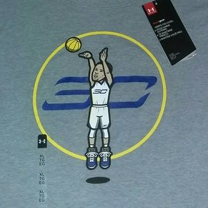 Steph Curry Under Armour Golden State Jersey Shirt